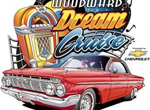 2013 Woodward Dream Cruise live video webcast August 16-17